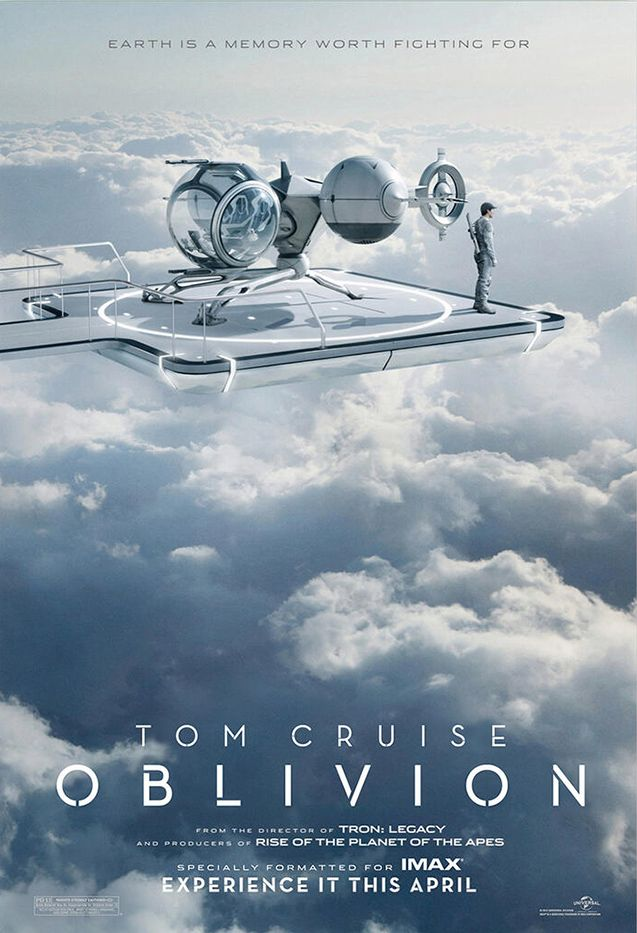 A veteran assigned to extract Earth's remaining resources begins to question what he knows about his mission and himself.