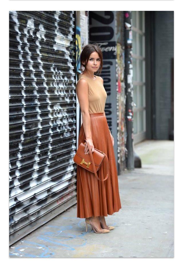 Brown leather | Fashion