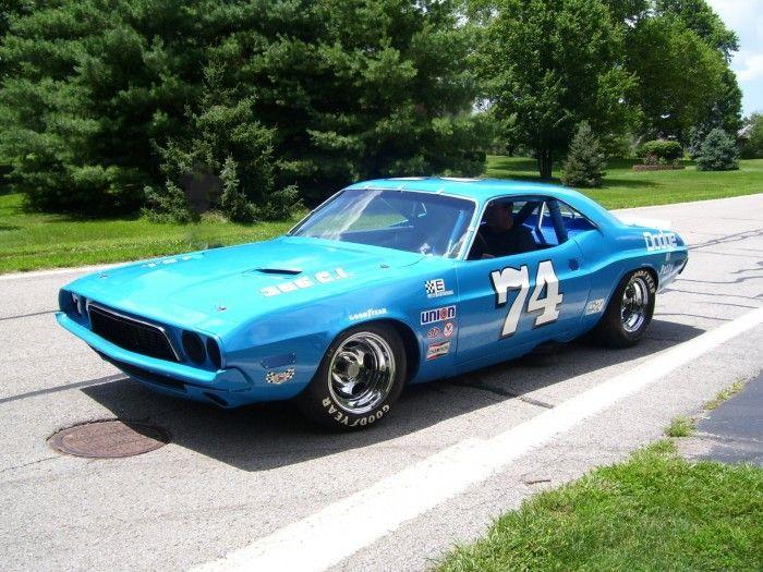 "1972 Dodge Challenger ""Kit Car,"" developed with Petty Enterprises"