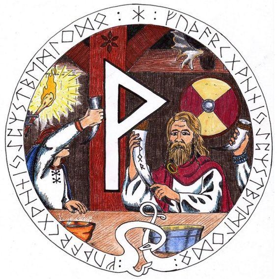 les 48 meilleures images du tableau runes sur pinterest a n de futhark runes mythologie. Black Bedroom Furniture Sets. Home Design Ideas