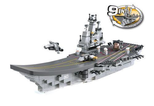 Sluban Army - Vliegdekschip 9-in-1 M38-B0537 #sluban #slubanarmy #speelgoed