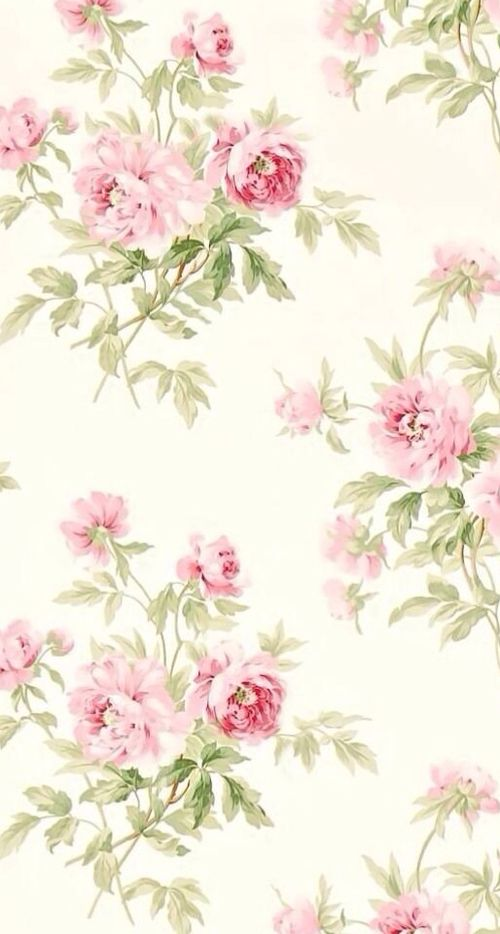 pastel floral wallpaper these - photo #30