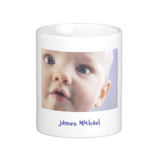 Personalized Baby Photo Coffee Mug