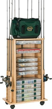 Organize Fishing Tackle..I love this!