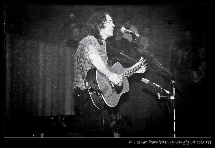 Rory Gallagher, Halle Münsterland, Münster - 28.April 1982 -  Photo by Lothar Dornieden