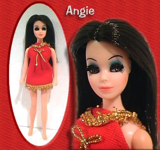 Dating myself: Dawn Angie doll in Red!  Memories of my childhood.