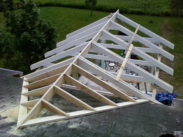 ROOF ON A ADDITION | Essa Addition Valley Saddle