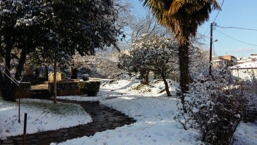 #naoussa #snow 30 / 12 / 2015