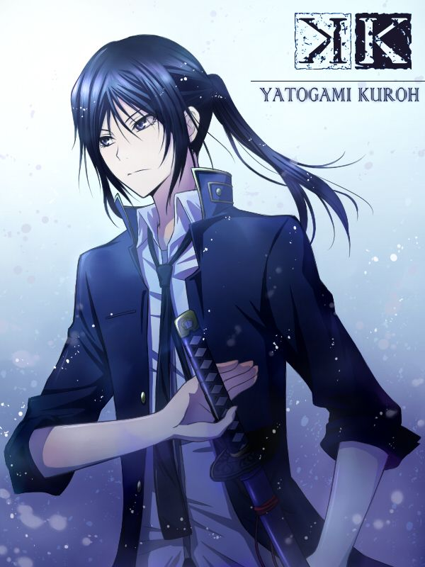 Kuroh Yatogami, the Black Dog vessel of the Colorless King. K anime