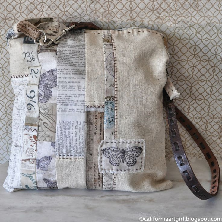 Richele Christensen: Eclectic Elements Fabric Tote