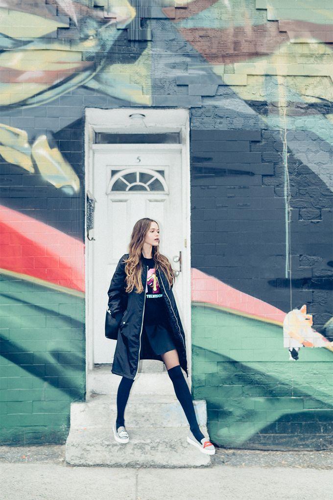 #colors#streetwear#black#coat