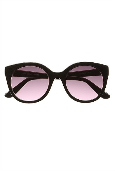 Ann-marie Super Round Sunglasses ~ statement piece! classes up any look or style! #witcherystyle