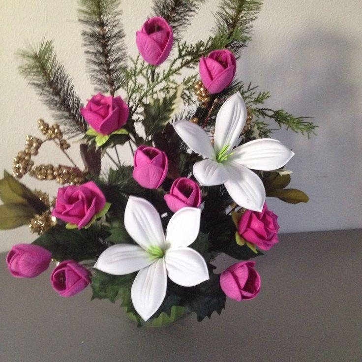 Foamy flowers