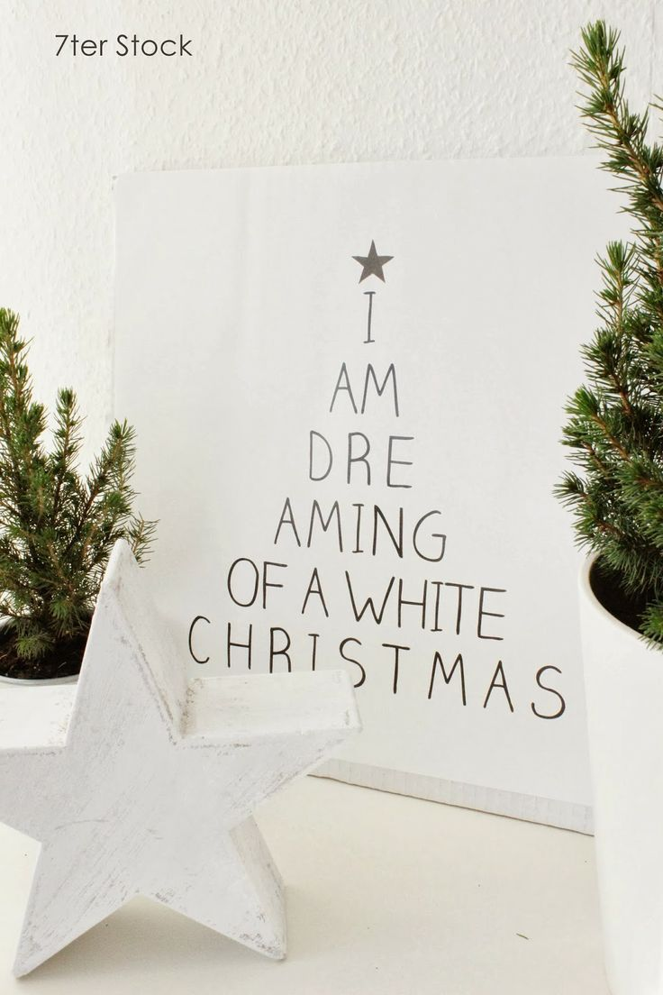 I'm dreaming of a white christmas .