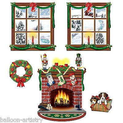 Magical Christmas Scene Setter Add-on - Indoor Decor