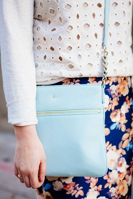 love this pastel Kate Spade purse