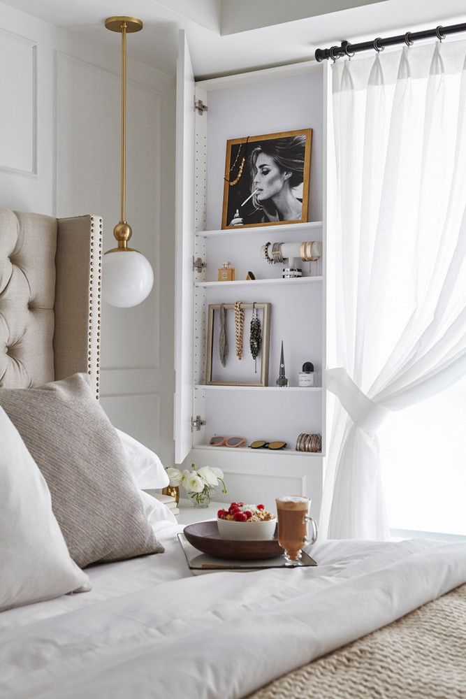 Inside a 550-Square-Foot Apartment with the Best Built-In Storage