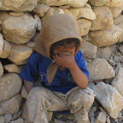 May God Bless the Brave Young Children of #Syria. Orphaned and Homeless #fsa_media_hub @AmalHanano
