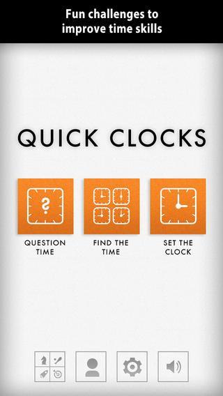 Quick clock er genial, hvis man skal lære klokken. Den er gratis i dag den 18/4. Normalpris?