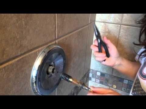 faucet repair how to repair a leaky shower faucet youtube - Shower Faucet Repair