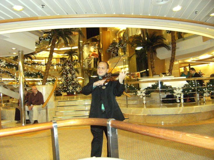 Wonderful entertainment on board the Sun Princess