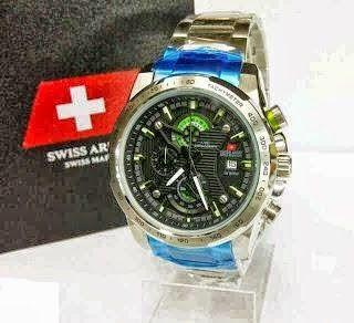 Jam Tangan Swiss Army 8814 Silver Black / RP 780,000 | BB : 21F3BA2F | SMS :083878312537