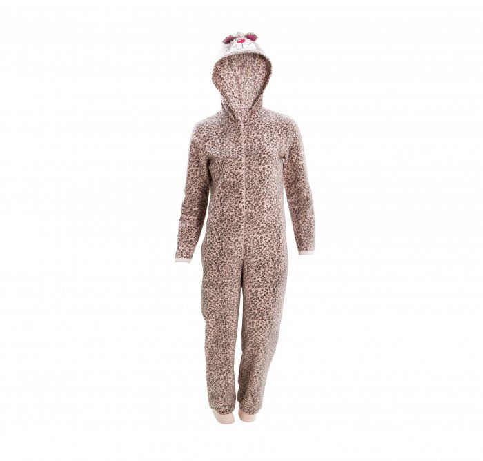 Leopards aren't really lazy, but you'll feel less inclined to do any sort of hunting all warm and cosy in a leopard onesie 7-14 years.
