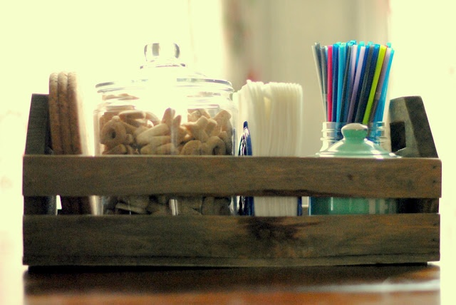 Kitchen Table Caddy