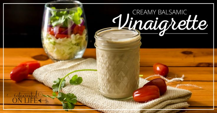 Looking for a yummmy creamy balsamic vinaigrette recipe for dressing. You can make this one at home. My family loves it.