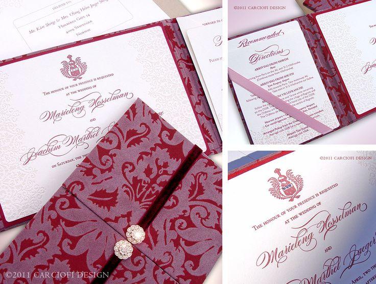 damask wedding invitation carciofi design blog the wow factor luxury unique wedding invitations by invite by voice 1106x837