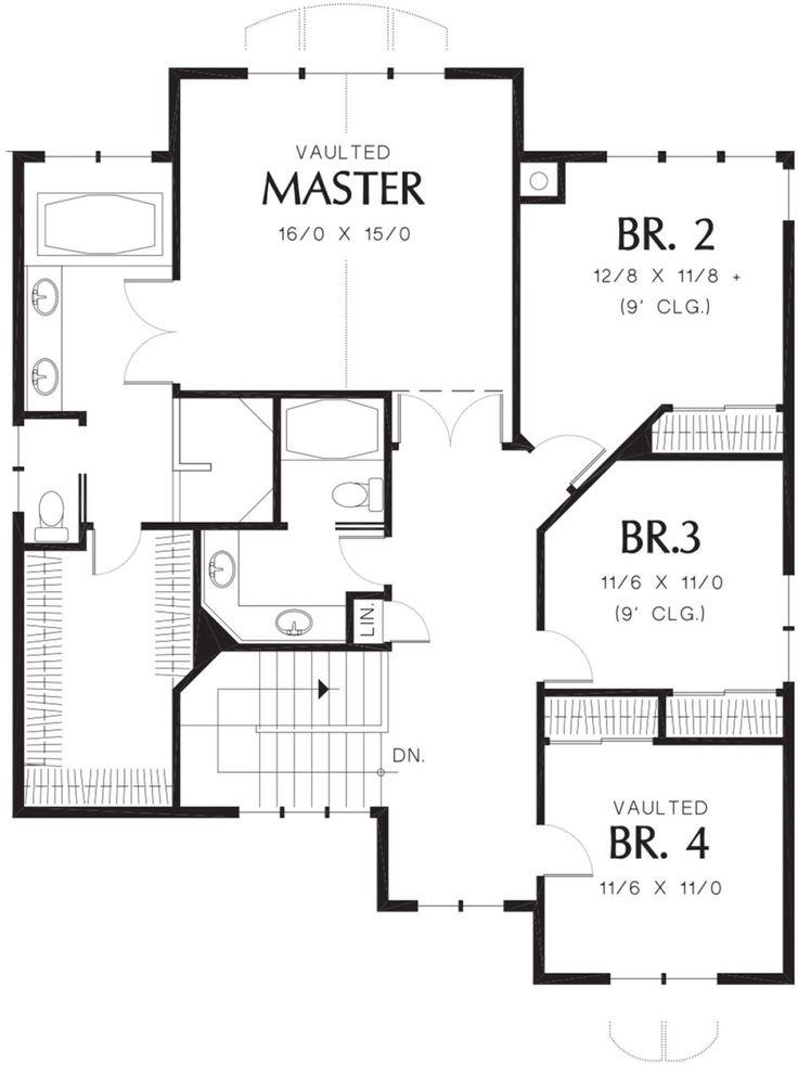 House Plan 2559 00524 Craftsman Plan 3 254 Square Feet