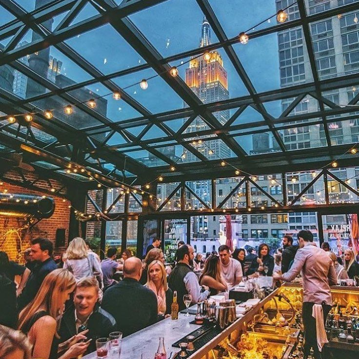 The 6 best enclosed rooftop bars with amazing views of Manhattan
