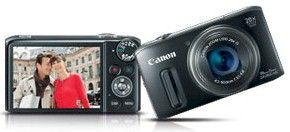 Canon PowerShot SX260 HS  12.1 MP CMOS Digital Camera  with 20x Image Stabilized Zoom 25mm Wide Angle Lens  and 1080p Full-HD Video (Black) The fact that the PowerShot SX260 HS digital camera is an ultra-slim camera with a powerful 20x Optical Zoom, Optical Image Stabilization and 25mm Wide-Angle lens is only the beginning of its attractions. SALE PRICE $119.12 US