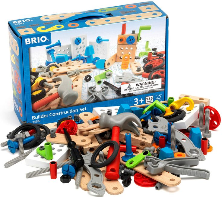 Brio BUILDER CONSTRUCTION SET 135 Piece Toy Play Gift Toddler/Child BN in Toys & Games, Pre-School & Young Children, Brio | eBay