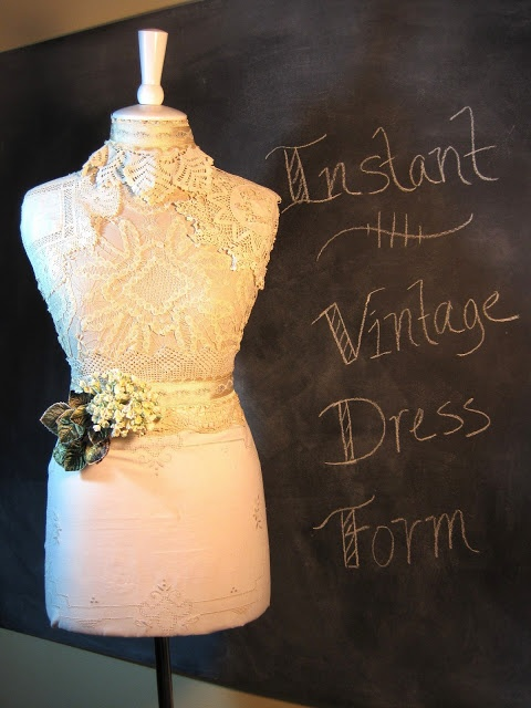 French style dress form