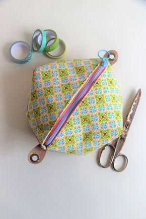 ᐅ Eckige Tasche Mit Reißverschluss Nähen Nähen Stricken Häkeln