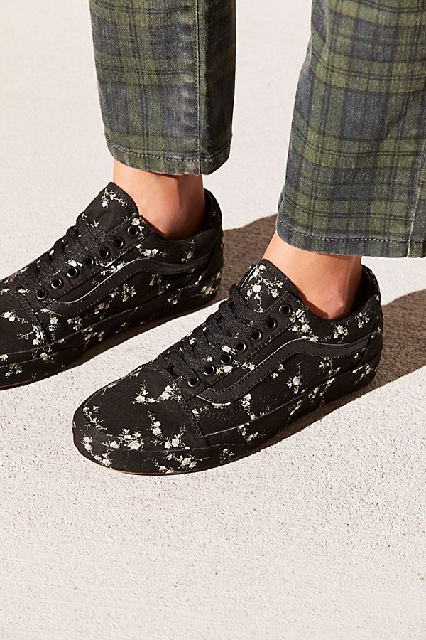 cac63bf403 Old Skool Midnight Floral Sneaker | let's get some shoes | Floral ...