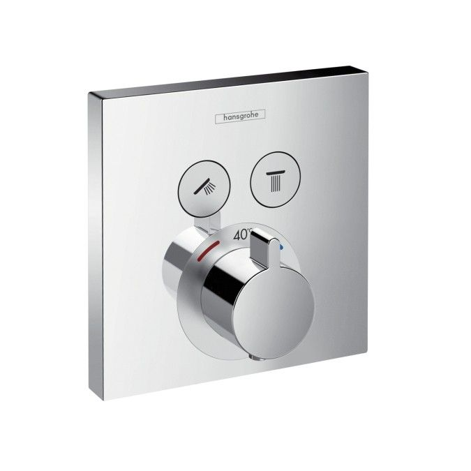 Hansgrohe ShowerSelect Thermostat for Concealed Installation