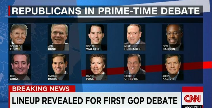Republican Primary Debate 2015: Start time, TV Channel, live stream and more