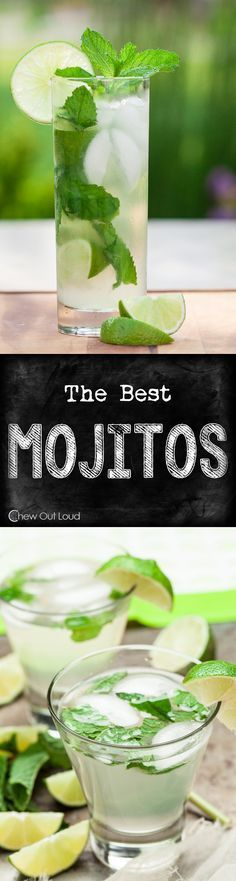 If you're going to drink Mojitos, have it done right, right? Refreshing, limey, minty...perfectly balanced. Don't pay for watered down Mojitos anymore! #cocktails #recipe