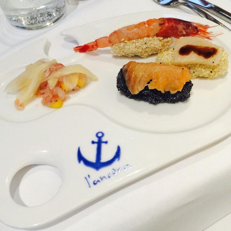 Le nostre sperimentazioni di #pesce #sushi #tartare #altropesce
