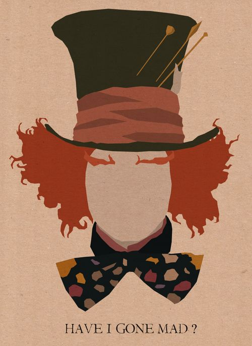 mad hatter silhouette