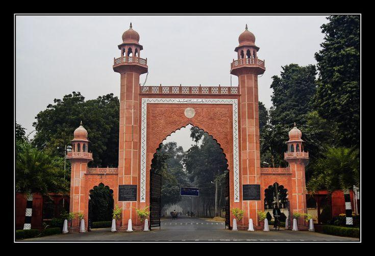 Jama Mosque, Aligarh Muslim University, Aligarh, Uttar Pradesh
