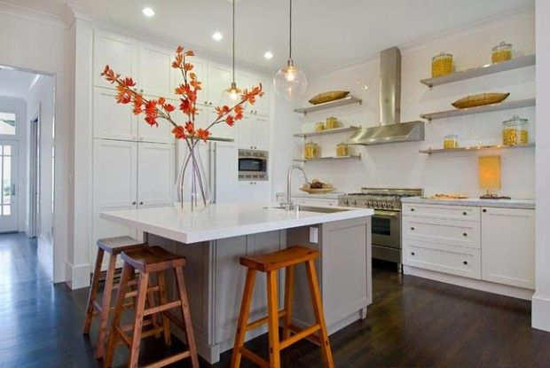 DIY Fall Interior Decorating Ideas to Refresh your Home. Visit www.walnutcreeksc.com to find out why #WalnutCreek was named the top-selling community in the #Charlotte market in 2015. Building your #DreamHome is now within your reach! #Lancaster County #SC. #homedecor #kitchen #falldecor #fall #autumn #autumndecor #hardwood #centerisland #stainlesssteel