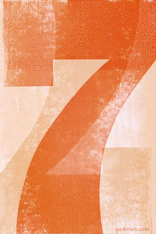 99 best images about 7 on pinterest behance - Lucky number 7 wallpaper ...