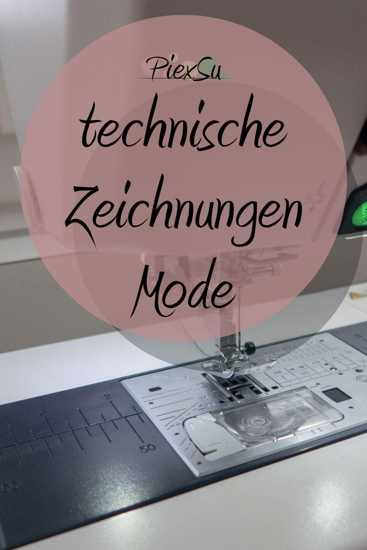 technische Modezeichnungen