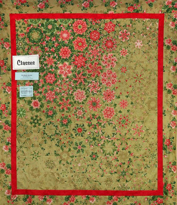 one fabric quilt - Google Search