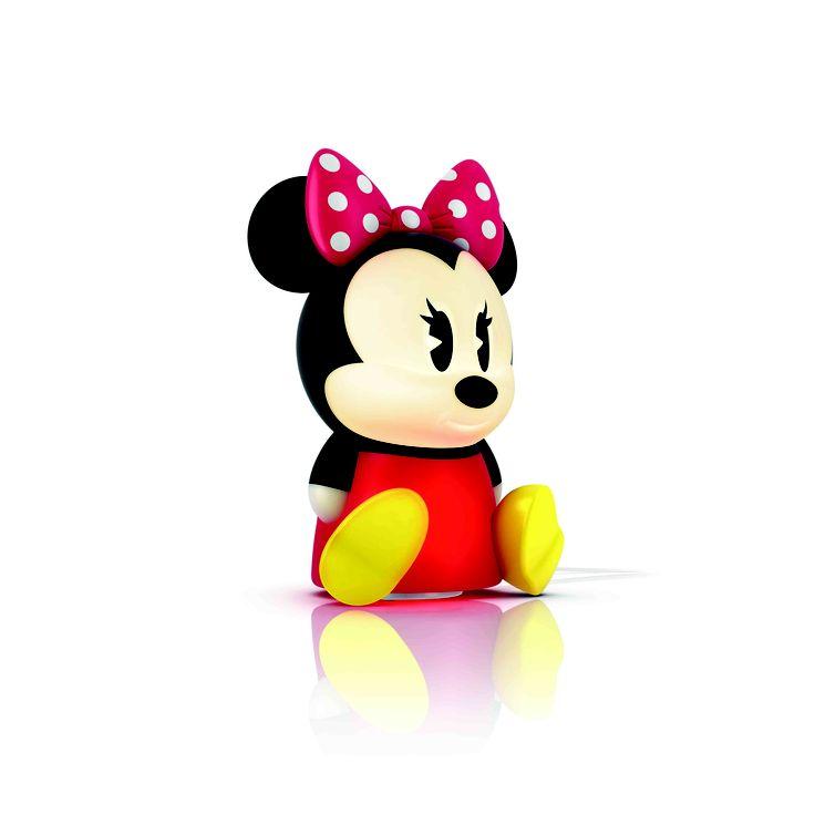 Lei è Minnie, con lei c'è Topolino. Insieme sono le SleepTime di Mickey & Minnie Mouse e portano un po' di magia alla cameretta dei vostri bambini #PhilipsDisney