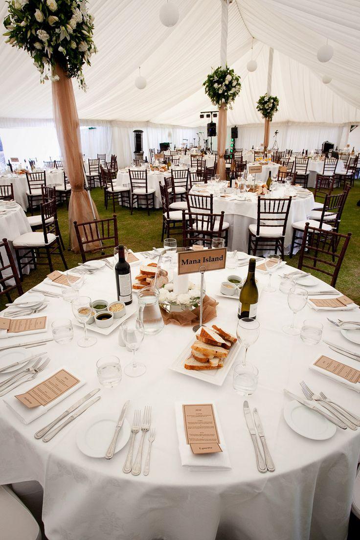 Round Wedding table