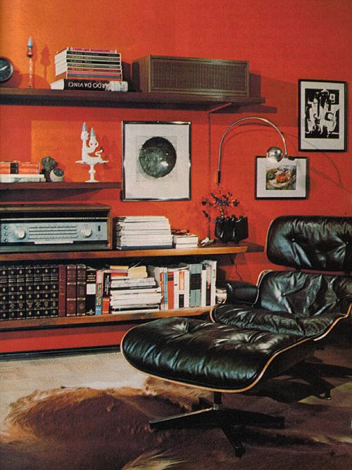 vintage man room- Hopefully P will get one of these!